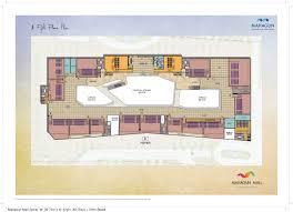 Cinema Floor Plan by Floor Plans Mahagun Mall