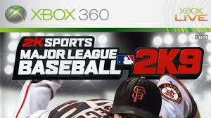 major league baseball 2k9 xbox 360 gameplay 2k sports 2009 hd