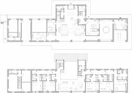 ground u0026 first floor plans rustic farmhouse in rosignano