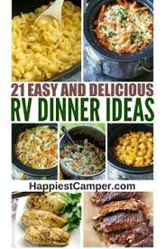 rv cuisine 25 easy rv meals rv meals and easy