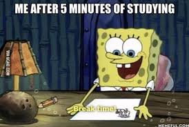 Studying Meme - finals week as told by various memes and gifs