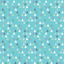 navy blue wrapping paper seamless vector geometric triangles pattern in navy and