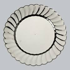 happy everything platter wholesale 9 premium disposable scalloped edge plastic plate translucent