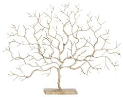 metal tree sculpture contemporary decorative objects