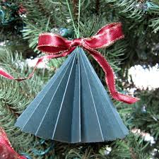 ornaments paper tree ornaments diy paper
