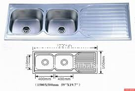 attractive standard size kitchen sink also most outstanding small standard size kitchen sink ideas with helpful cabinet diions images