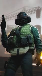 rainbow six siege u0027s operator blackbeard u0027s icon with added detail