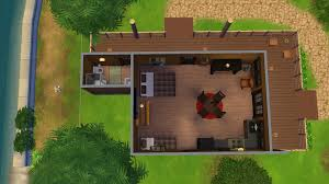 mod the sims deer camp cabin no cc