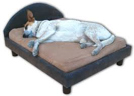 memory foam dog beds and dog furniture by max comfort