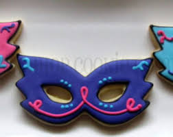 masquerade cookies masquerade mask cookie cutter multi size