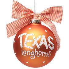 longhorns ornament ornaments decorations