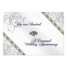 60th anniversary invitations personalized 60th anniversary invitations custominvitations4u
