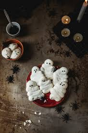 halloween ghost meringues recipe beauty health