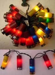 shotgun shell christmas lights for ken because every sporting clay shooter needs shotgun shell