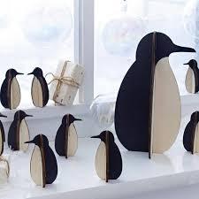 staggering penguins decorations decoration cake