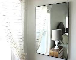 frameless mirror etsy