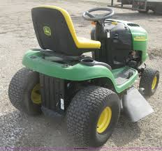2005 john deere l118 riding lawn mower item k2994 sold