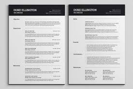 2 page resume template two page resume templates 2 page resume format