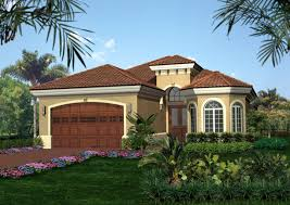 Homes For Narrow Lots Tuscan Style House Plan 66025we Architectural Designs House