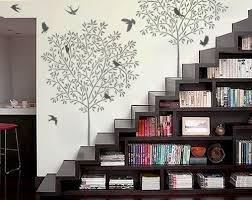 home decor walls impressive idea wall decor for home songbirds stencils 10 reusable