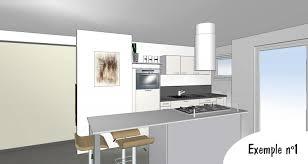 exemple cuisine plan de cuisine 3d la baule guérande cuisiniste la baule guérande