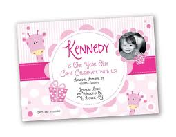 birthday invitation wording for 1 year old images invitation