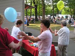 free balloons curwensville days hoagie booth