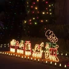 outdoor christmas train wayfair