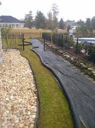 drainage french drains savannah pooler richmond hill georgia