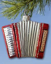 accordion ornament