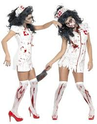 Walking Dead Halloween Costumes Scary Halloween Costumes Women Horrible Nurse