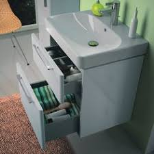 750mm Vanity Units For Bathroom by Coast 500mm Wall Mounted Vanity Unit Open Shelf Gloss White