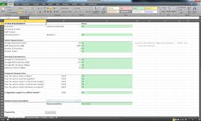 Requirements Spreadsheet Template What U0027s Your Vm Chargeback Model Virtual Andy