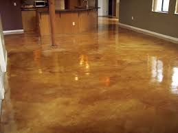 stylish stamped concrete floors in houses that looks like tile