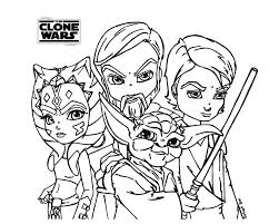 Ahsoka Tano Coloring Pages The Clone Wars By Ahsoka Tano Coloring Wars Clone Coloring Pages