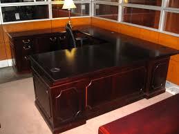 Used U Shaped Desk Used Kimball U Shaped Desk For Sale Home Office Pinterest