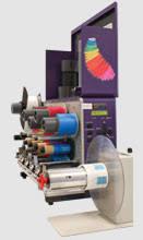 qls 4100 xe color thermal transfer label printer