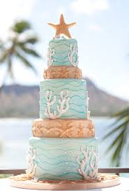 beachy wedding cakes starfish and coral wedding cake a wedding cake