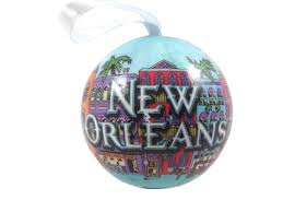 gifts from new orleans ornaments