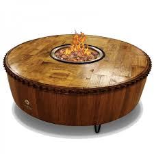 Wine Barrel Fire Pit Table by Moderna Wine Barrel Fire Pit Vin De Flame Wine Country