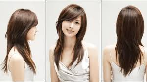 hairstyle for long straight hair oval face long straight hairstyle