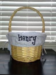 personalized wicker easter baskets personalized easter basket liner girl multi polka dot