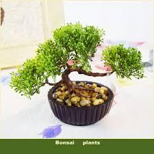 Plants For Desk Decorative Bonsai Tree Flowers Pots Planters Artificial Plants