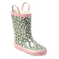 womens zebra boots chemistry womens w503 leopard print rubber weather proof