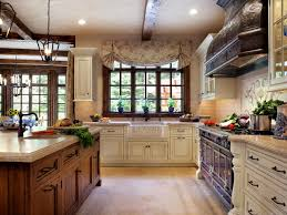 traditional french country kitchen with high quality hardwood