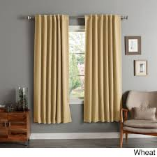 Light Pink Curtains by Aurora Home Insulated 72 Inch Thermal Blackout Curtain Panel Pair