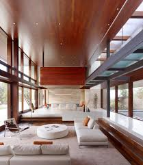 Concrete Ceiling Lighting by Impressive Minimalist Living Room Decorating Ideas With White