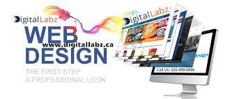 kitchener web design digital labz provides unique web design for your business at
