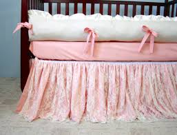 ivory crib bed skirt creative ideas of baby cribs