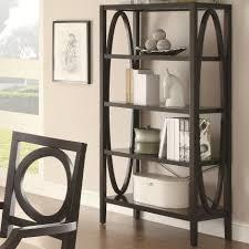 Backless Bookshelf Pflugerville Furniture Center Coaster U2013 Contemporary